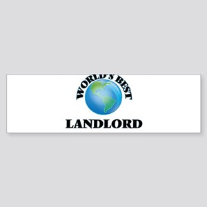 World's Best Landlord Bumper Sticker