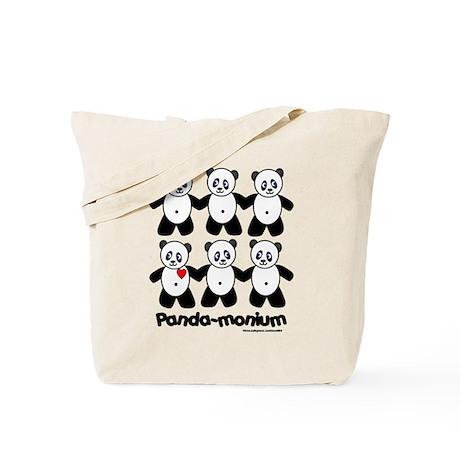 Panda-monium Tote Bag