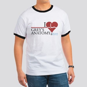 I Heart Grey's Anatomy Ringer T-Shirt