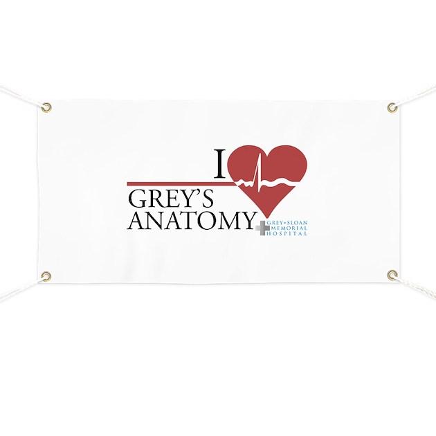 I Heart Grey\'s Anatomy Banner by wheetv10
