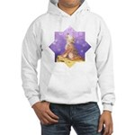 Adopt a wolf and wolf howling Hooded Sweatshirt