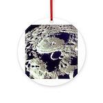 Far Side of Moon Astronomy Christmas Tree Ornament