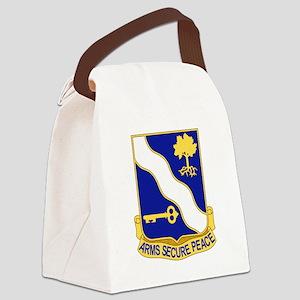 143rd Infantry Regiment Canvas Lunch Bag