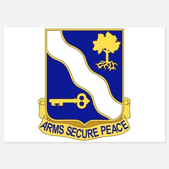143rd Infantry Regiment.psd Invitations
