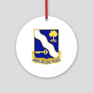 143rd Infantry Regiment Ornament (Round)