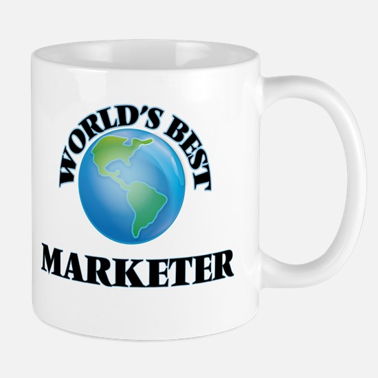 World's Best Marketer Mugs