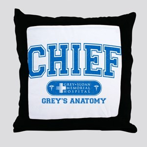 Grey's Anatomy Chief Throw Pillow