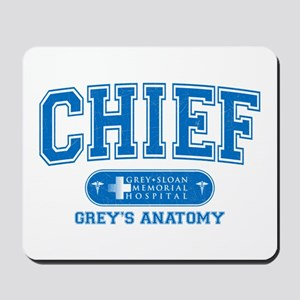 Grey's Anatomy Chief Mousepad