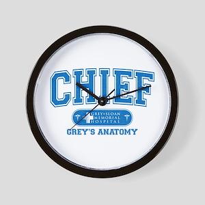 Grey's Anatomy Chief Wall Clock