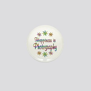 Happiness is Photography Mini Button