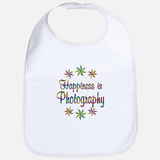 Happiness is Photography Bib