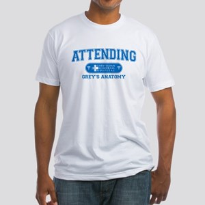 Grey's Anatomy Attending Fitted T-Shirt