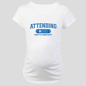 Grey's Anatomy Attending Maternity T-Shirt