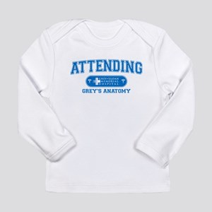 Grey's Anatomy Attending Long Sleeve Infant T-Shir