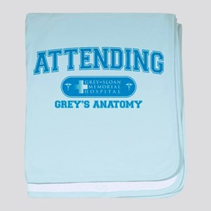 Grey's Anatomy Attending Infant Blanket