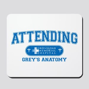 Grey's Anatomy Attending Mousepad