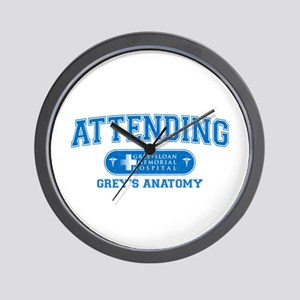 Grey's Anatomy Attending Wall Clock