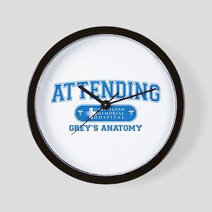Grey's Anatomy Attending Wall Clock