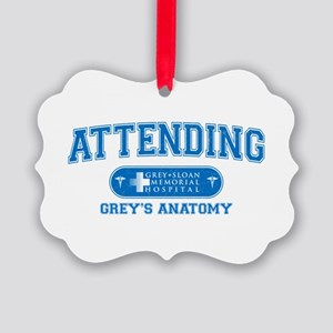 Grey's Anatomy Attending Picture Ornament