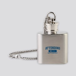 Grey's Anatomy Attending Flask Necklace