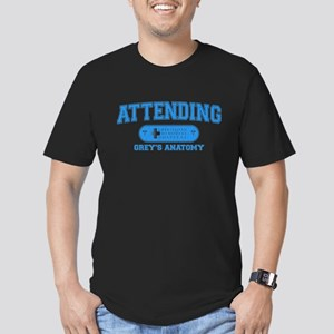 Grey's Anatomy Attending Men's Dark Fitted T-Shirt