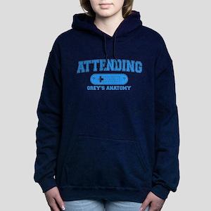 Grey's Anatomy Attending Woman's Hooded Sweatshirt