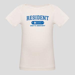Grey's Anatomy Resident Organic Baby T-Shirt