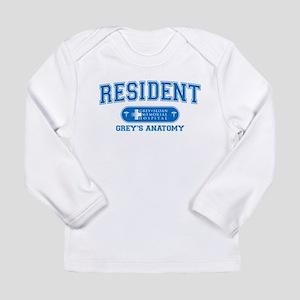 Grey's Anatomy Resident Long Sleeve Infant T-Shirt