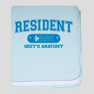 Grey's Anatomy Resident Infant Blanket