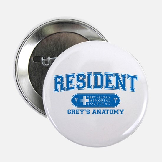 "Grey's Anatomy Resident 2.25"" Button"