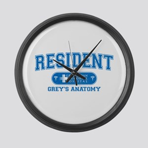Grey's Anatomy Resident Large Wall Clock