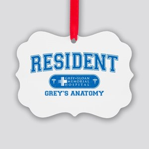 Grey's Anatomy Resident Picture Ornament
