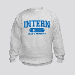 Grey's Anatomy Intern Kids Sweatshirt