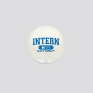 Grey's Anatomy Intern Mini Button