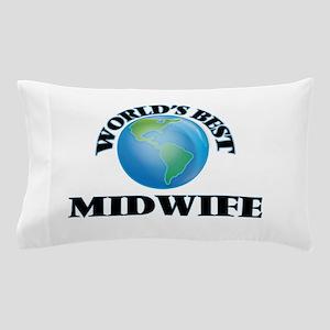 World's Best Midwife Pillow Case