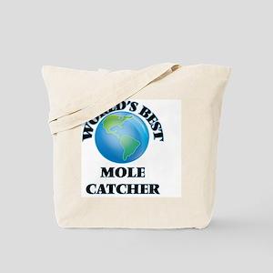 World's Best Mole Catcher Tote Bag