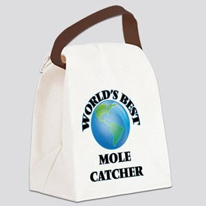 World's Best Mole Catcher Canvas Lunch Bag