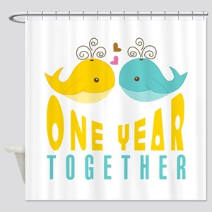 1st Anniversary Gift For Her Shower Curtain