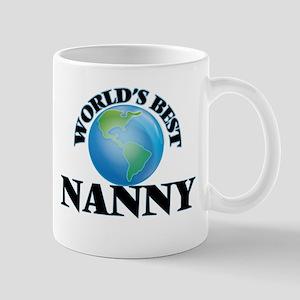 World's Best Nanny Mugs