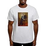 Obama - French Bulldog (BW-RedC) Light T-Shirt
