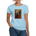 Obama - French Bulldog (BW-R Women's Light T-Shirt