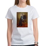 Obama - French Bulldog (BW-RedC) Women's T-Shirt
