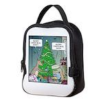 Merry Christmas Honey Deer Neoprene Lunch Bag