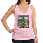 Merry Christmas Honey Deer Racerback Tank Top