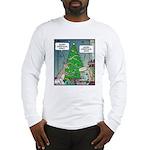 Merry Christmas Honey Deer Long Sleeve T-Shirt