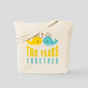 2nd aniversary celebration Tote Bag