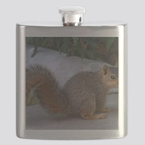 Cute Squirrel Flask