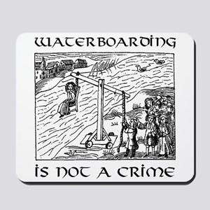 Waterboarding mousepad