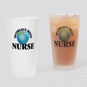 World's Best Nurse Drinking Glass