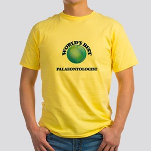 World's Best Palaeontologist T-Shirt